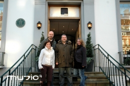 In January this year, we headed off to Abbey Road studio 2 to record the latest set for Chris Moyles show including a new opening song
